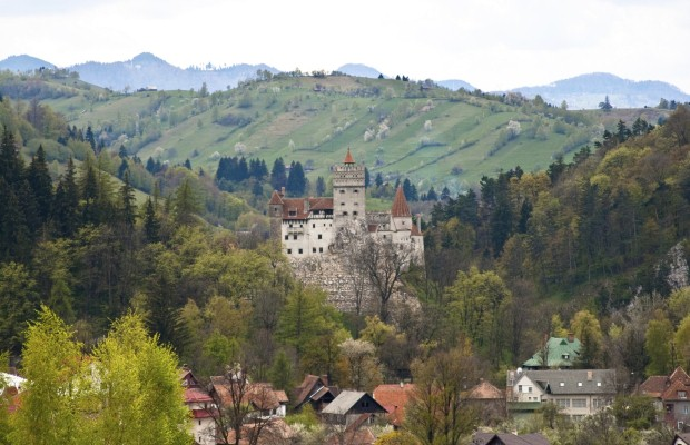 Bran Castle was the setting for Bram Stoker's 1897 gothic novel Dracula (photo: Thinkstock)