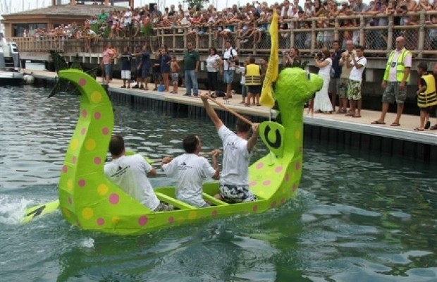 The Carboard Boat Race offers family fun in Gibraltar