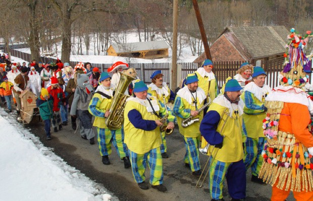 Costume parades and other events will be taking place in the Czech Republic