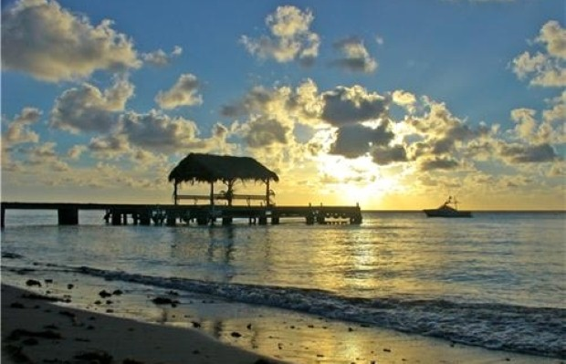 Enjoy your own private beach in tropical Tobago (photo: Trinidad and Tobago Tourist Office)