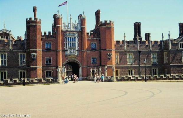 Hampton Court Palace was Henry VIII's favourite residence