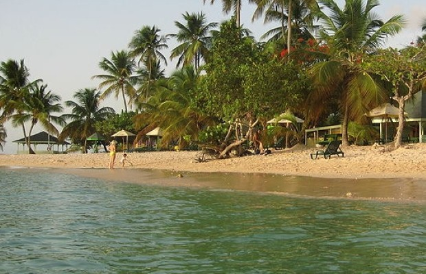 Holidaymakers in Tobago