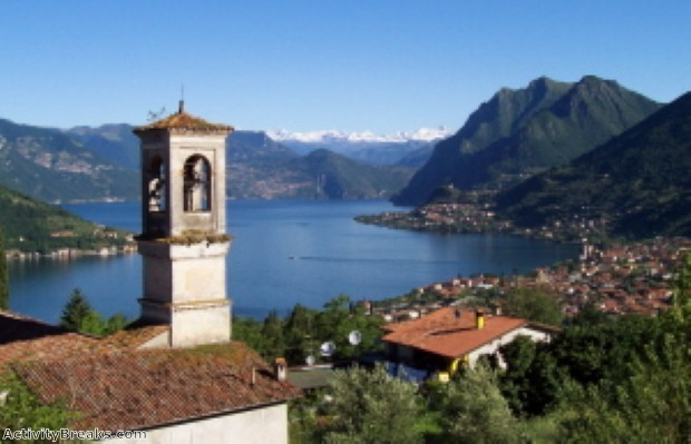 Lake Iseo provides all the beauty ad a fraction of the price.