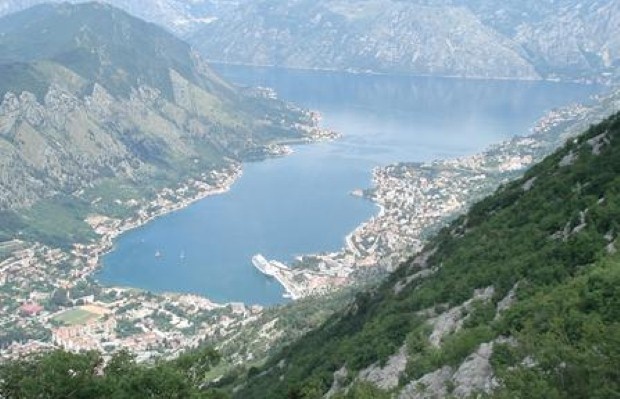 Montenegro, views above Kotor