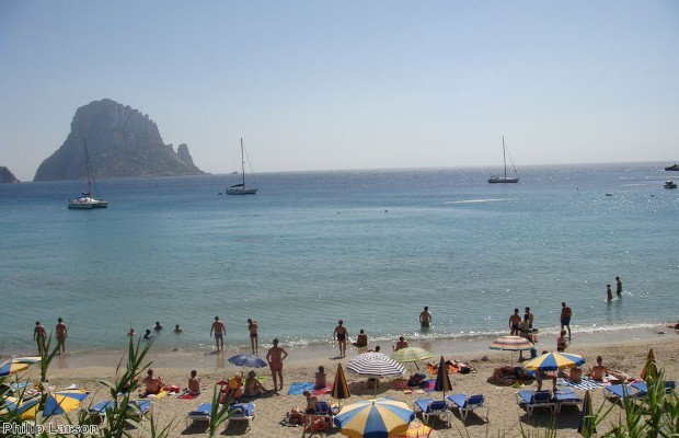 Spain's beaches are popular with Brits.