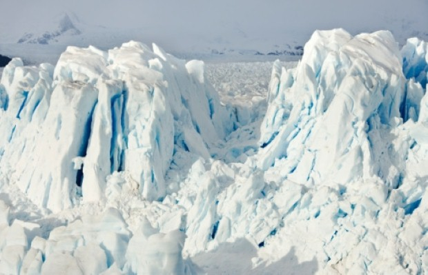 The amazing Patagonian glacier