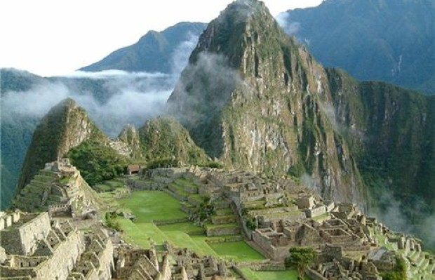The celebrities will walk to Machu Picchu