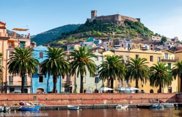 The colourful town of Bosa is not to be missed
