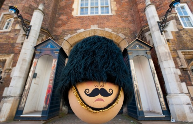 The Fabergé Big Egg Hunt features 200 giant handmade eggs hidden across London