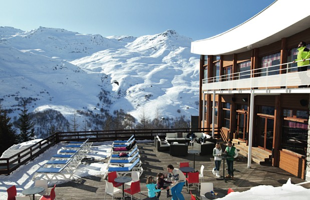 The Neige et Ciel Belambra Club in Les Menuires boasts a great location