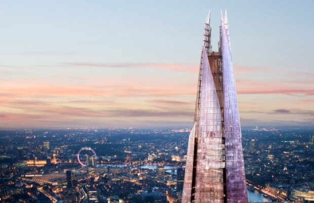 The Shard is the tallest building in Western Europe (photo: The View from The Shard)