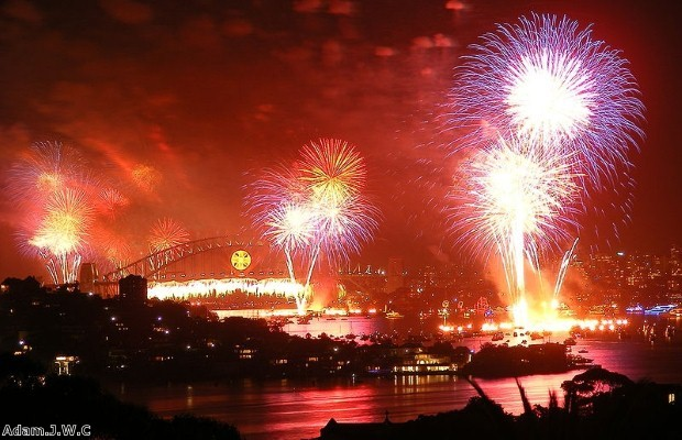 The Sydney fireworks are on the the most famous displays at New Year's Eve (photo: Thinkstock)