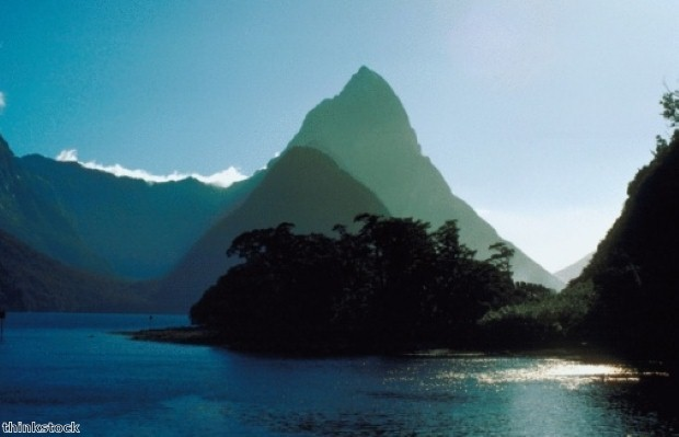 The tour includes a visit to Milford Sound, New Zealand