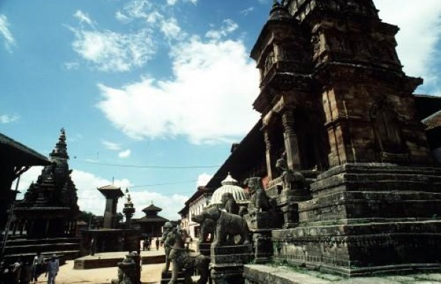 Travellers can fly to Kathmandu to see the sights of Nepal
