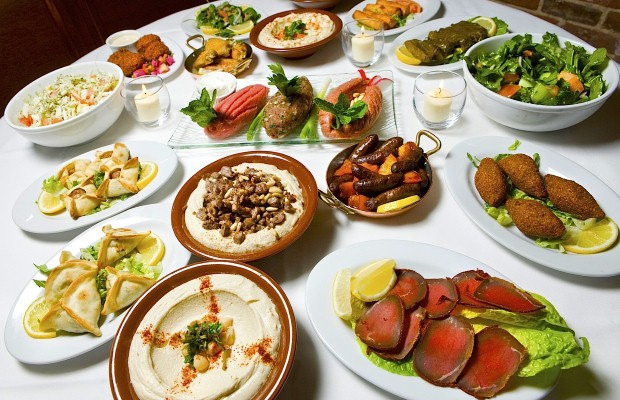 Travellers can sample Lebanese mezza