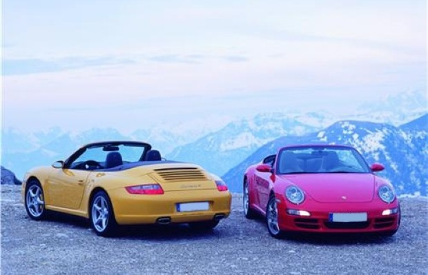 Visitors can drive sports cars in Arctic conditions
