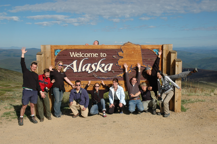 Rivers, lakes and mountains on an Alaskan adventure tour
