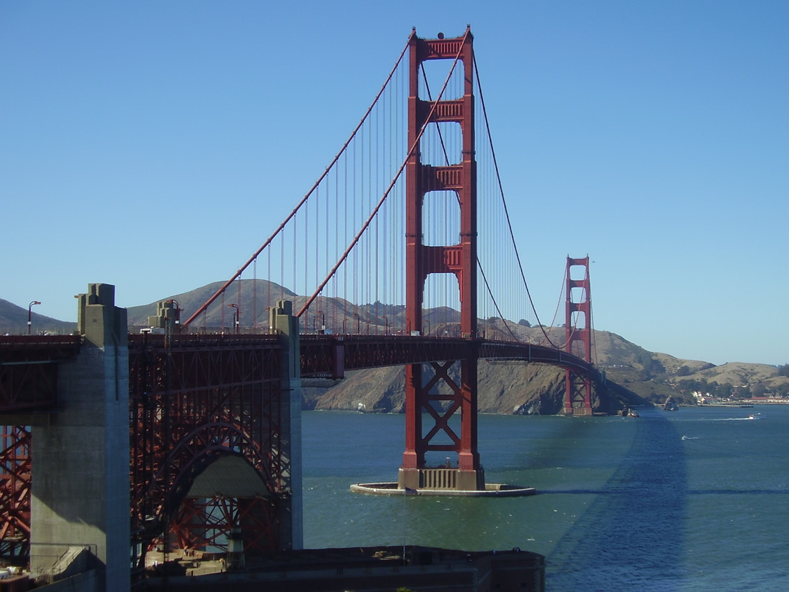 Family holidays - visit the Golden Gate Bridge of San Francisco