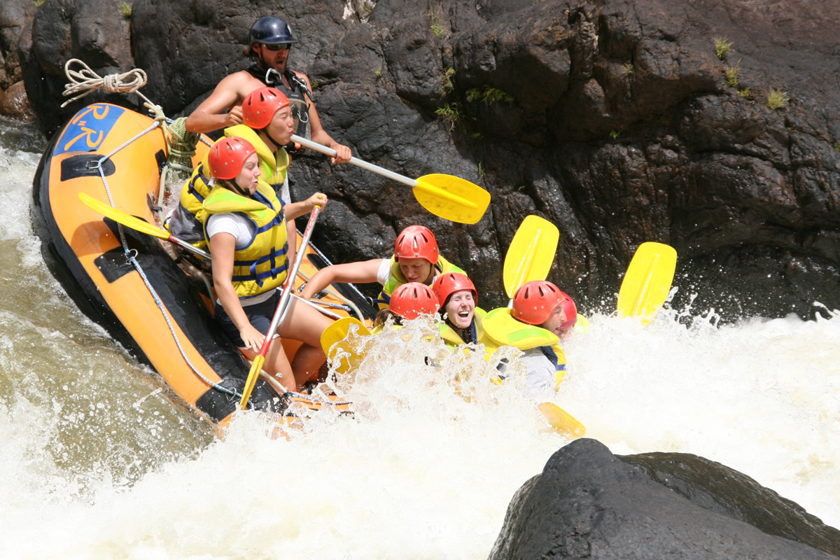 Small group adventure tour - rafting activities