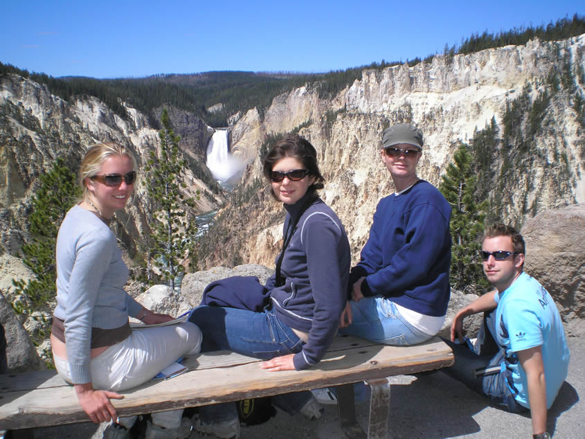 Adventure travel - so much to see at Yellowstone Park