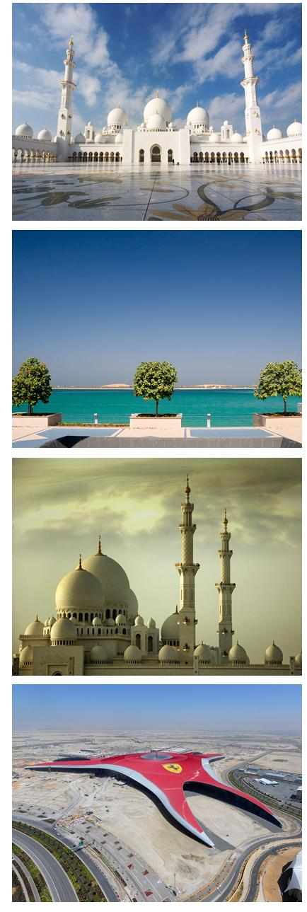 Flights to Abu Dhabi