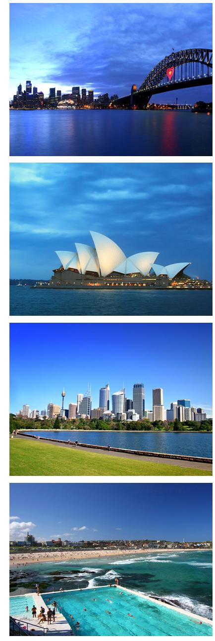 Flights to Sydney