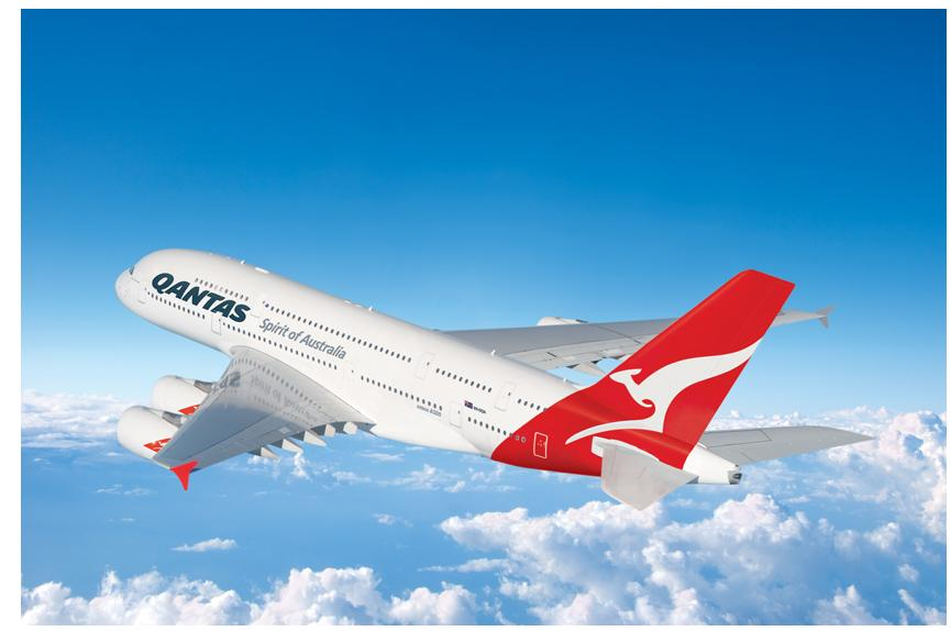 First and Business Class Flights with Qantas