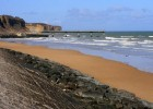 A family holiday in Normandy at Omaha Beach