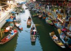 Bangkok is famous for its floating markets