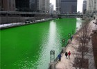 Chicago is one of the cities which will 'go green' for St Patrick's Day