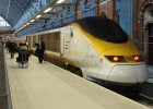 Eurostar provides direct high-speed rail services to Paris and Brussels