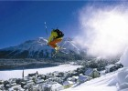 Exhilarating skiing in St Moritz, Switzerland