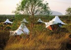 Glamping is a great way to be close to nature, without the basic accommodation