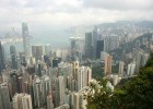 Hong Kong from Victoria Peak (photo: Natasha von Geldern)