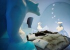 ICEHOTEL is created from the frozen waters of the nearby River Torne (Photo:Leif Milling. Artist AnnaSofia Mååg)