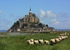 Mont St Michel in Brittany, France