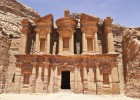 Petra is one of the highlights of the Tintin Jordan tour