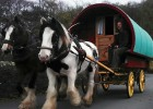 Quirky accommodation in the Lake District in a gypsy caravan