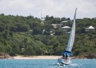 Sailing in Antigua on this luxury holiday