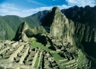 The historic Inca city of Machu Picchu