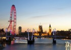 The London Eye offers on of the best views of London