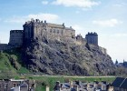 The world famous Edinburgh Castle