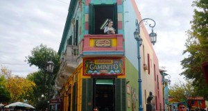 La Boca is one of the most famous areas of Buenos Aires (photo: Sarah Gibbons)