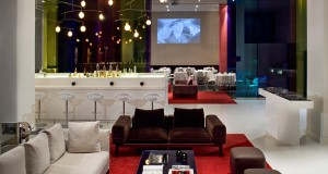 Hotel ME features stylish and chic interiors