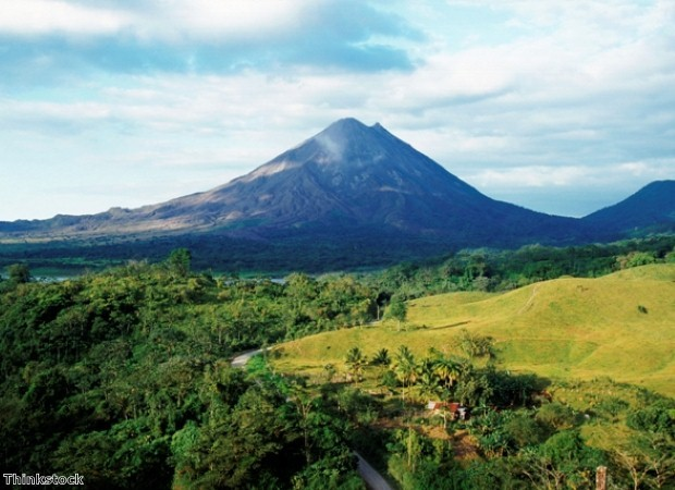 Arenal is perfect for trekking