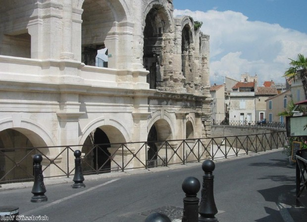 Arles is full of Roman sites