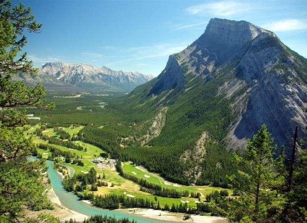 Banff National Park is ideal for outdoor pursuits