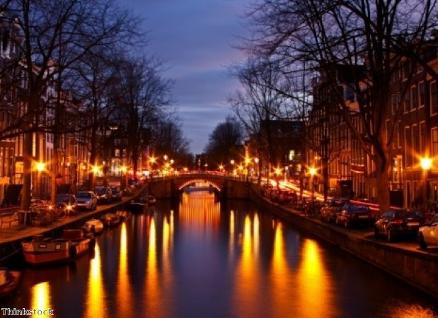 Canals are a great way to explore Amsterdam