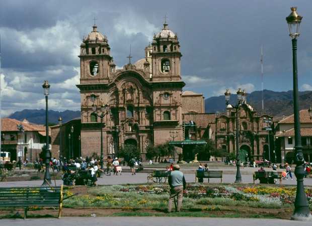 Cusco blends Inca and Spanish architecture