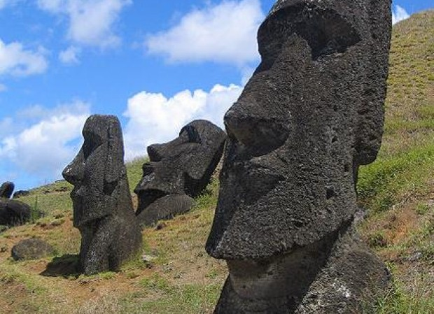 Easter Island is a hard place to reach